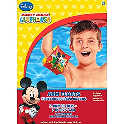 Disney Mickey Mouse Arm Floats | Party Favor: Toys & Games