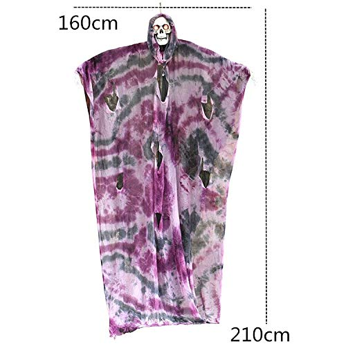 Halloween Scary Decoration Props Hanging Large Ghost Doll Home Office Bar KTV Haunted House Escape Halloween Party Decor Supply ()