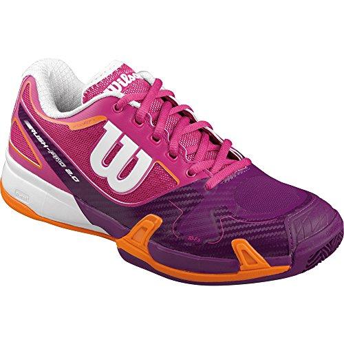 Wilson Rush Pro 2.0 Clay Court W Fiesta Pin - Zapatillas de tenis, Mujer Rosa