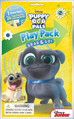 Bendon 42303 Puppy Dog Pals 24-Page Coloring Play Pack]()