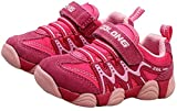 PPXID Boy's Girl's Athletic Lace up Casual Sneaker Running Shoes-Pink 13 US Size