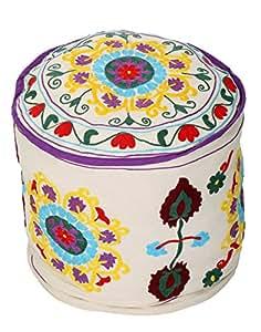 Diseñador de algodón hecho a mano del bordado del otomano étnico Trabajo