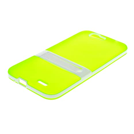 MOONCASE Huawei G7 Case Jelly color Funda Carcasa TPU Gel Tapa Case Cover para Huawei Ascend G7 Verde