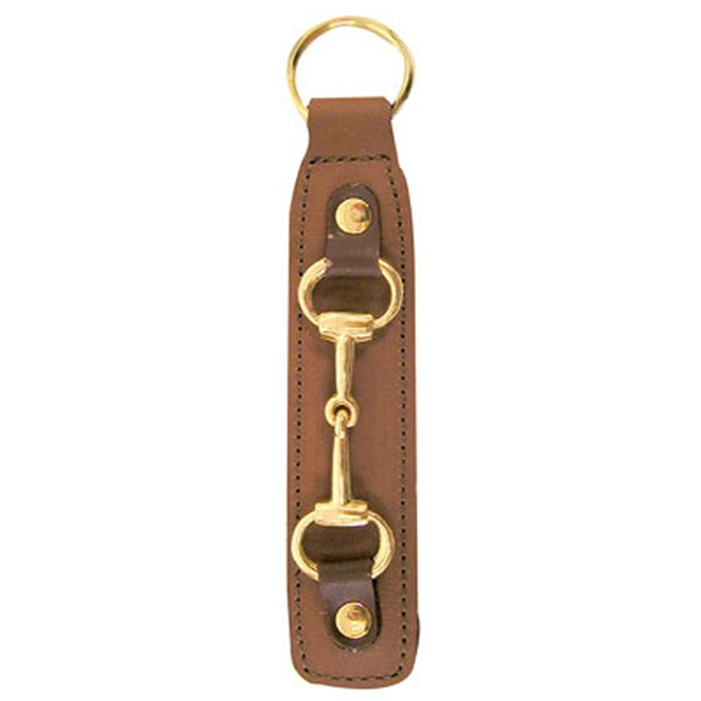 KEY FOB SNAFFLE BIT/LEATHER   B008OAXA6O