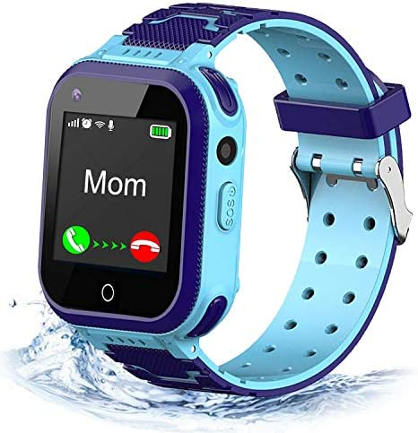 4G Kids Smart Watch,Kids Phone Smartwatch w GPS Tracker,Call,Alarm,Pedometer,Camera,SOS,Touch Screen WiFi Bluetooth Wrist Watch Boys Girls iPhone iOS Android,3-12 Years Old Children Students Gift