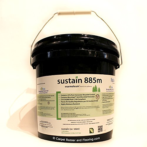 Forbo Marmoleum Sustain 885m Marmoleum Sheet and Tile Adhesive (1 Gallon Pail) from iDecor