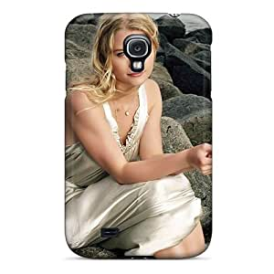 Durable Protector Case Cover With Emilie De Ravin 2013 Hot Design For Galaxy S4