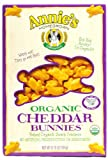 Annie's Homegrown Organic Cheddar Bunnies, 6.75-Ounce (Pack of 96)