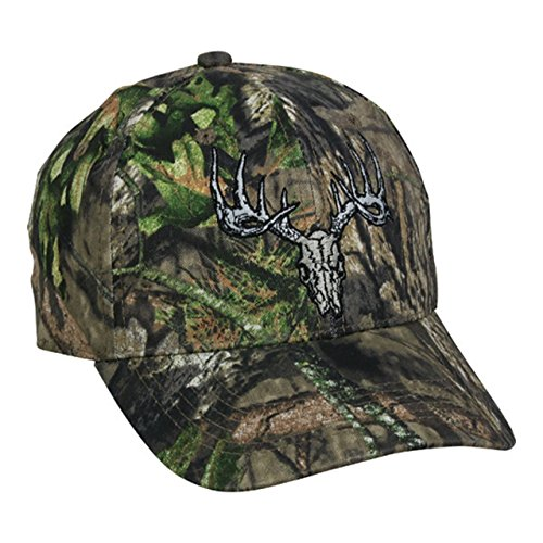 Outdoor Cap Mossy Oak Country Deer Skull Camo Hunting Hat