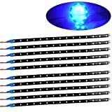 Kyпить oEdRo 10x Flexible Strip 30cm 15 LED Ice Blue Car Truck Motorcycle Light Waterproof 12V на Amazon.com