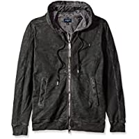 True Religion Men's Coated Crafted With Pride Logo Zip Hoodie