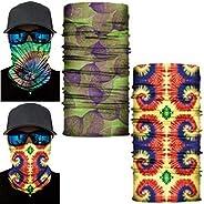 DSRG Headbands Wrap Bandana Headwrap Scarf Neck Gaiter Skull Face Mask