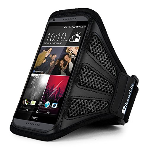 Sports Armband for HTC Desire Eye (Black) - 7