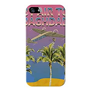 Baghdad Full Wrap High Quality 3D Printed Case for Apple? iPhone 5 / 5s by Nick Greenaway + FREE Crystal Clear Screen Protector