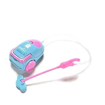 Xiton Kunststoff-Staubsauger Spielzeug Miniatur-Puppenhaus Zubeh/ör Kreatives Spielzeug f/ür M/ädchen-Geschenk zuf/ällige Farbe
