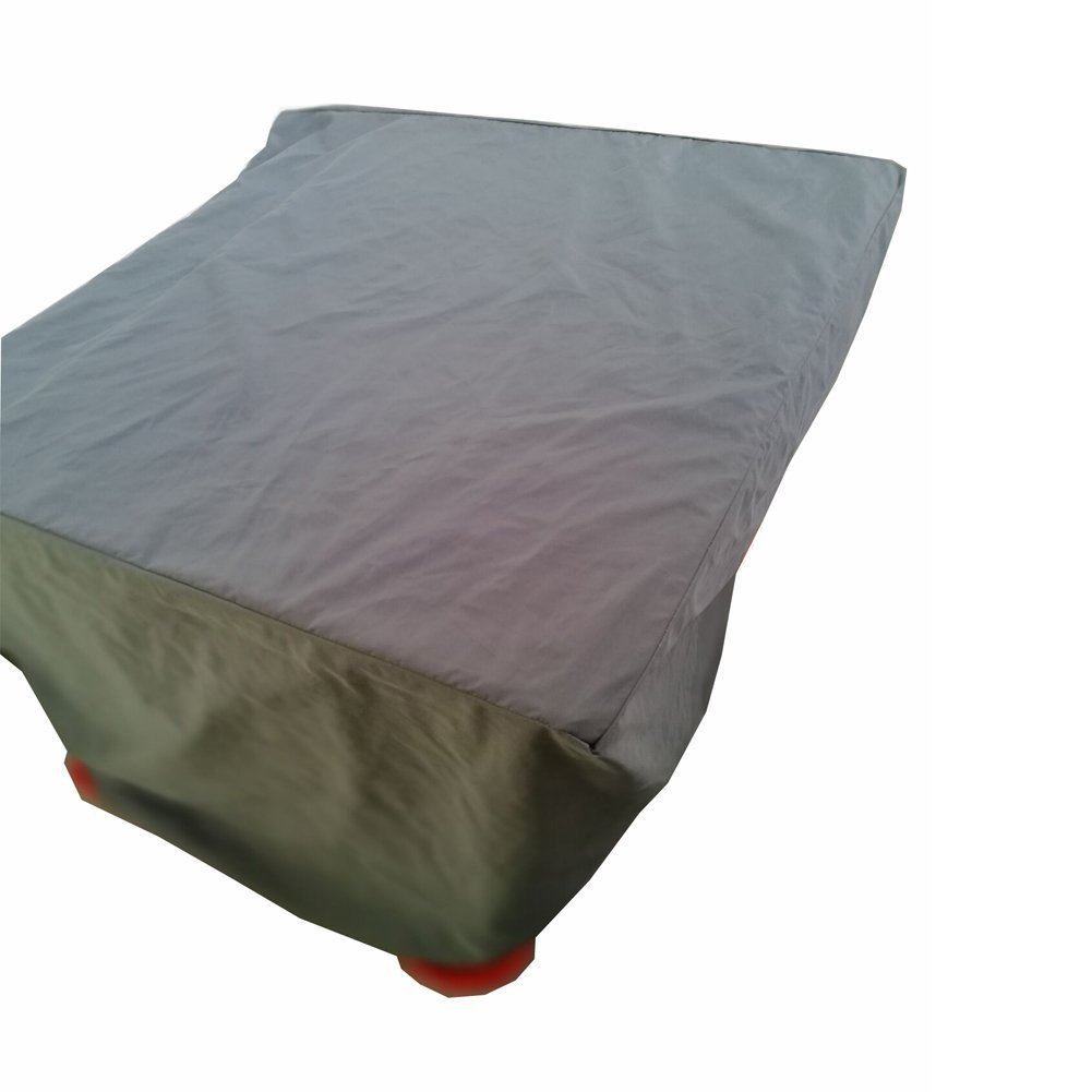 QEES JJZ08 - Funda cuadrada para parrilla de gas para barbacoa con correa cerrada de poliéster resistente al aire libre, cubierta para muebles de jardín, ...