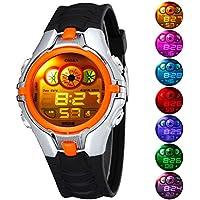 Kid Watch LED Sport 30M Waterproof Multi Function Digital Wristwatch for Boy Girl Children Gift