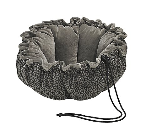 Bowsers Buttercup Dog Bed, Large, Pewter Bones