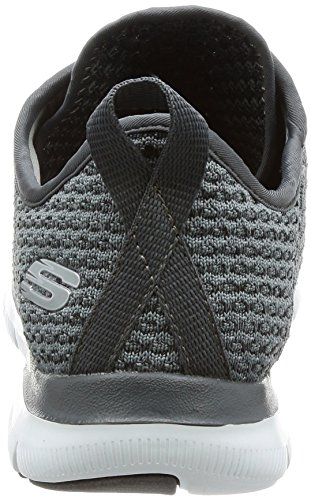 Skechers Charcoal Move Entrenadores Appeal para Flex Gris 2 Bold 0 Mujer ZSZfqr7