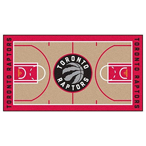 FANMATS NBA Toronto Raptors Nylon Face NBA Court Runner-Small (Cart Toronto Bar)