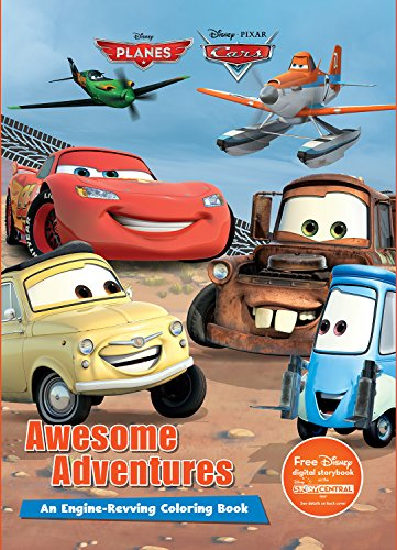 Price comparison product image Disney Pixar Awesome Adventures (Cars and Planes) (Color It!)
