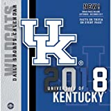 Kentucky Wildcats 2018 Calendar: Bonus Pages Include September - December 2017: Facts or Trivia on Every Page!