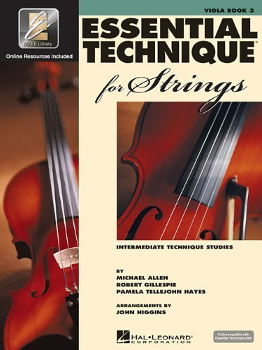Essential Technique for Strings (Essential Elements Book 3): Viola by Robert Gillespie (2004-03-01) ()