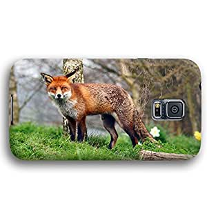 Red Fox Samsung Galaxy S5 Slim Phone Case wangjiang maoyi