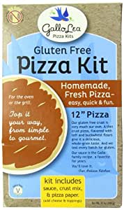 Gallolea Pizza Kits Gluten Free Pizza Kit, 11 Ounce