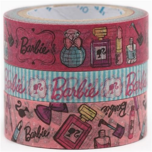 Nastri adesivi Barbie fiocchi profumi 3pz Shinzi Katoh