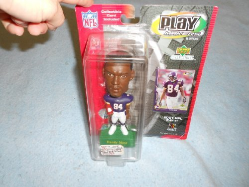 Randy Moss Play Makers Bobble Head 2001 NFL Edition ()