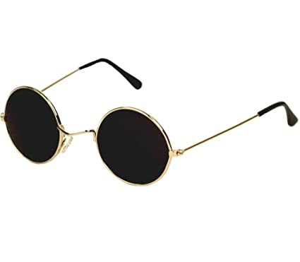 Lisburn Orginal Dior Style UV Protected Round Gold Frame Black Lens  Sunglasses For Men and Women  Amazon.in  Clothing   Accessories 7c9b6ae3296