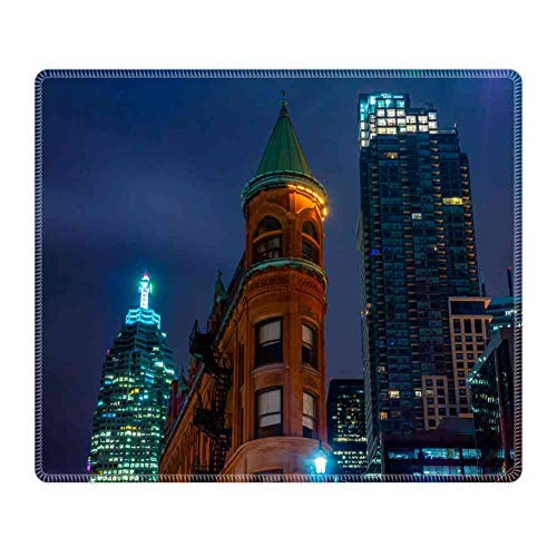 Mouse Pad Large Mousepad for Gaming 4k Wallpaper, Architecture, Buildings Rectangle Rubber Cloth Mat (26CM x 21CM x 3MM) for Computer Laptop MacBook (Best 4k Gaming Wallpapers)