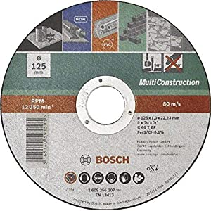 Bosch Mola da Taglio Dritta Multiconstruction 125 mm 51igIWPdniL. SS300