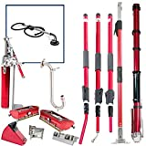 Level5 Full Extendable Handle Drywall Taping / Finishing Set with PORTER CABLE 7800 SANDER