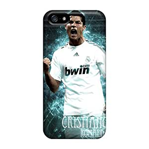 Anti-scratch And Shatterproof The Pride Of Real Madrid Cristiano Ronaldo Phone Case For Iphone 5/5s/ High Quality Tpu Case