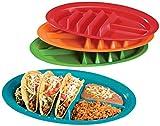 Fiesta Taco Plates, Set of 4 by WalterDrake