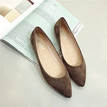 75d342b00455c WYMBS best gift The new minimalist Occupational Footwear point light ...
