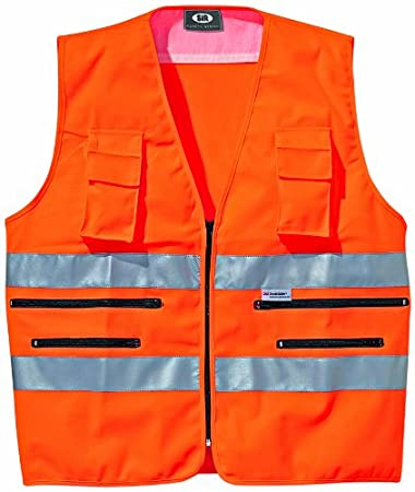 Sir Safety 34913, Gilet catarifrangente, taglia M, Arancione
