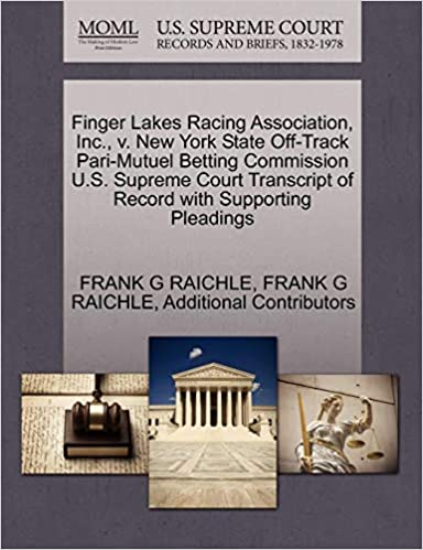 Off track betting new york history books how to play online football betting