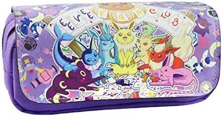Estuche para lápices de Pokemon con 2 compartimentos para niños Craze UK Eevee Evolutions: Amazon.es: Oficina y papelería