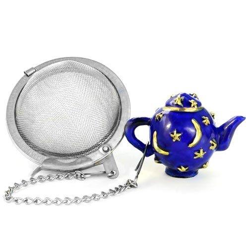Blue Celestial Tea Pot Shaped Infuser Ball
