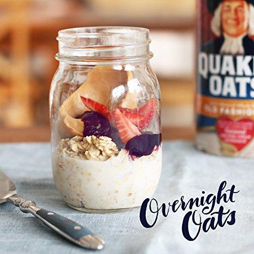 030000010204 - Quaker Oats Old Fashioned Oatmeal, 18 oz Canister carousel main 6