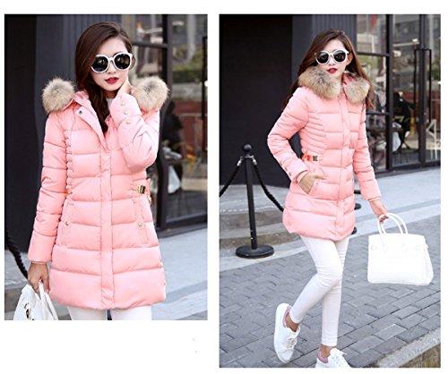 mid Femme Ghope ou Long Veste Manteau Elegant Automne long Hiver Jacket dYxRBrY