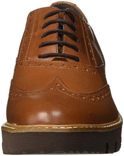 Zapatos con cordones de punta redonda formales Bata para mujer