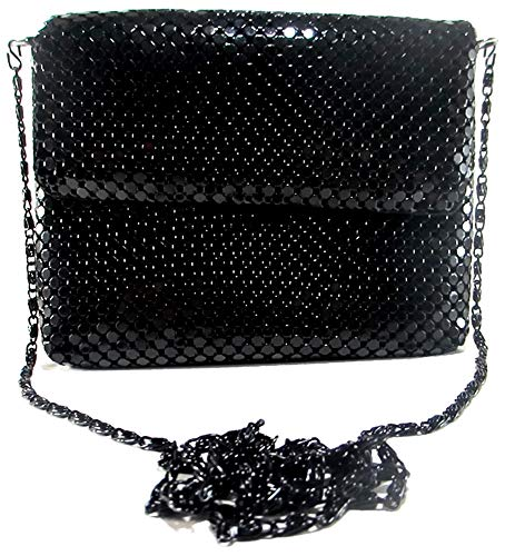 Womens clutch metal mesh evening purse bag for Cocktail Party Prom Wedding Banquet