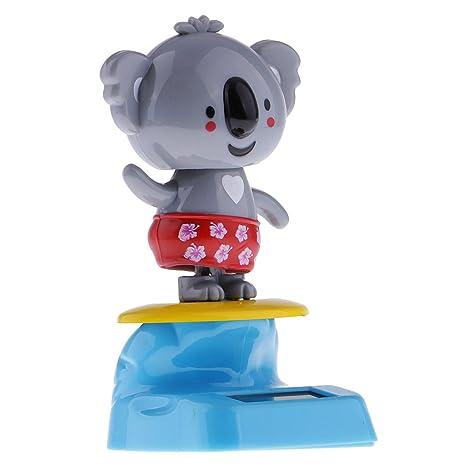 Magideal Gris Con Solar Energía Dancing Koala Funciona Swinging CshQrtdx