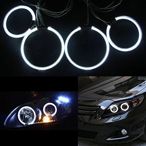 4pcs CCFL Angel Eyes Halo Ring Kits Headlight for Toyota Corolla 2001-2004 -