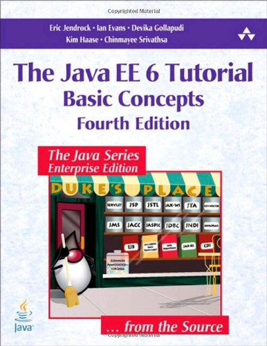 [PDF] The Java EE 6 Tutorial: Basic Concepts (4th Edition) Free Download | Publisher : Prentice Hall | Category : Computers & Internet | ISBN 10 : 0137081855 | ISBN 13 : 9780137081851