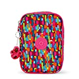 Kipling 100 Pens Printed Pencil Case, Blooming Geo